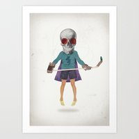 Superhero #9 Art Print