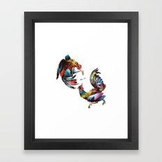 Cocks Framed Art Print
