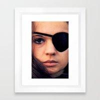 Thriller: A Cruel Picture Framed Art Print