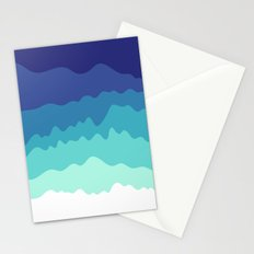 Abstract Study 5 Stationery Cards