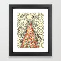 Christmas Joy -- Abstrac… Framed Art Print