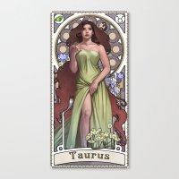 Zodiac Art Show - Taurus Canvas Print