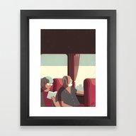 Day Trippers #1 - Arriva… Framed Art Print