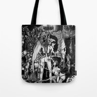 In Hell we are the cockroaches Tote Bag