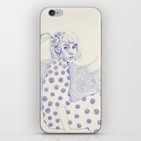 Flowery iPhone & iPod Skin