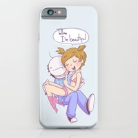 iPhone & iPod Case featuring Pewdiecry: Tell me I'm Beautiful! by Thais Magnta Canha