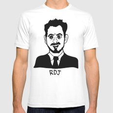 RDJ SMALL Mens Fitted Tee White