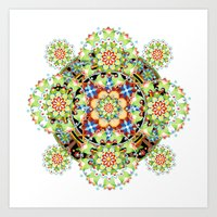Constellation Mandala Art Print