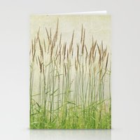 Summer Grasses Stationery Cards
