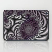 Purple And Gray iPad Case