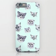 Some Grey Cats iPhone 6 Slim Case