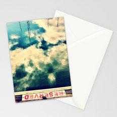 Reserved I Stationery Cards