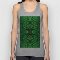 on the edge of the universe Unisex Tank Top
