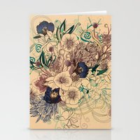 Zentangle Floral mix Stationery Cards