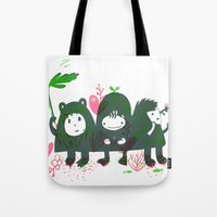 Three Hills Tote Bag