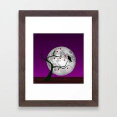 Lonely portend Framed Art Print