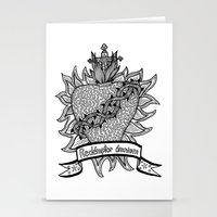Sacred Heart - Redémpto… Stationery Cards