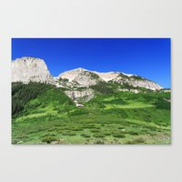 What Waterfall Canvas Print