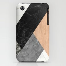 Marble and Wood Abstract Slim Case iPhone (3g, 3gs)