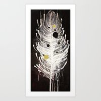 Feather Souls Art Print
