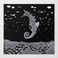 The Sea Horse Canvas Print