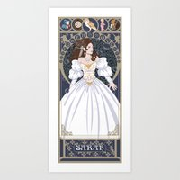 Sarah Nouveau - Labyrint… Art Print