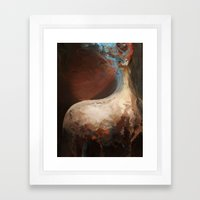 Mem-brain Framed Art Print