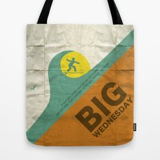 Big Wednesday Tote Bag