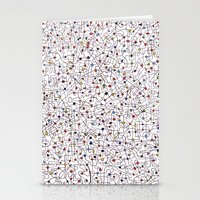 The Brain Number Three Stationery Cards