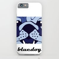 iPhone & iPod Case featuring Bluedog by andiroses