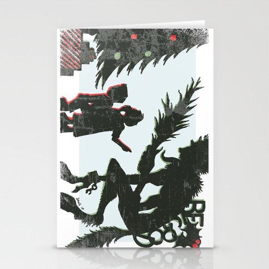 Be Good Krampus Stationery Card