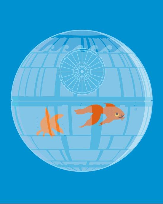 Empire Fish Bowl Canvas Print