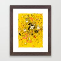 Central 26th Framed Art Print