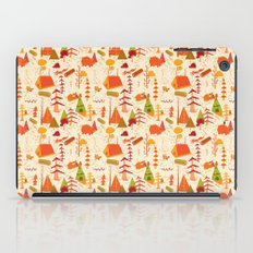 woods pattern iPad Case