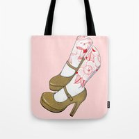 Gold And Glitter Tote Bag