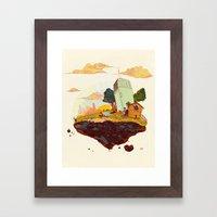 Driftaway Framed Art Print