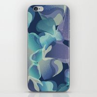 Micro Blue iPhone & iPod Skin