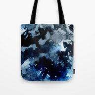 Shadows - Blue Dream Tote Bag