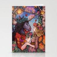 A Midsummer Nights Dream Stationery Cards