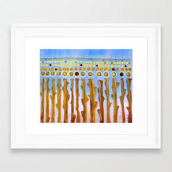 :: Indiana Corn :: Framed Art Print