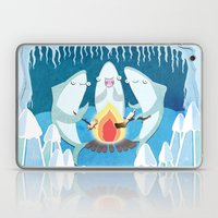 A Shiver of Sharks Laptop & iPad Skin
