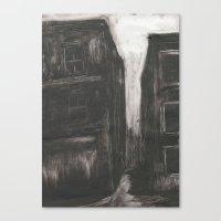 An Evening in Whitechapel II Canvas Print