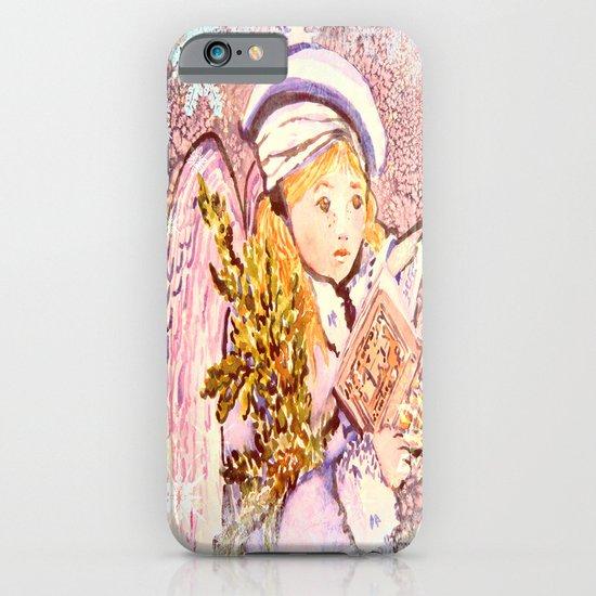The Caroling Angel iPhone & iPod Case
