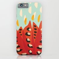 Red Abstract Tulip iPhone 6 Slim Case