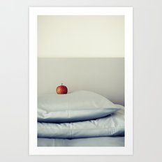 an apple a day ... Art Print