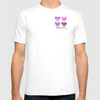 Sweetooth Love Mens Fitted Tee White SMALL