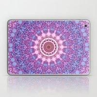 pink and blue kaleidoscope Laptop & iPad Skin