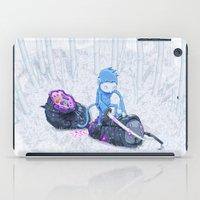 Samurai Monkey iPad Case