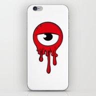 Red Eye iPhone & iPod Skin