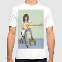 Now If Only I Could Play… Mens Fitted Tee White SMALL
